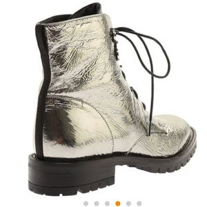 Kenneth Cole Shoes - Kenneth Cole Pewter Francesca Boots